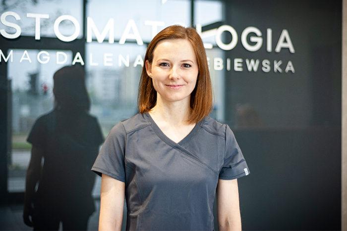 MG Stomatologia - lekarz dentysta Magdalena Gołębiewska
